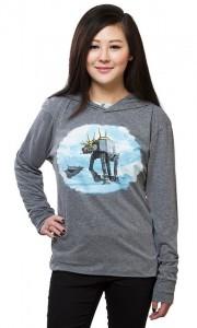 Thinkgeek - AT-AT reindeer hooded pullover