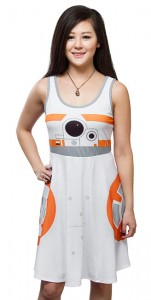 Thinkgeek - BB-8 A-Line dress by Her Universe (front)