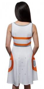 Thinkgeek - BB-8 A-Line dress by Her Universe (back)
