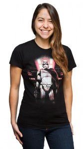 Thinkgeek - exclusive women's Captain Phasma t-shirt