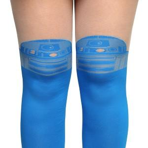 Thinkgeek - R2-D2 faux thigh-hi fashion tights