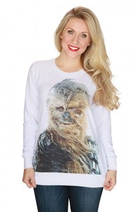 Thinkgeek - Snowy Chewbacca scoop neck pullover by Her Universe
