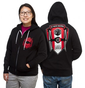Thinkgeekk - TIE Fighter Squadron unisex hoodie