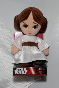 Princess Leia soft toy