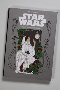 Art Therapy Star Wars 'mindfulness colouring' book
