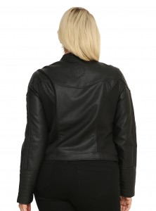 Hot Topic - women's plus size Darth Vader jacket by Her Universe (back)
