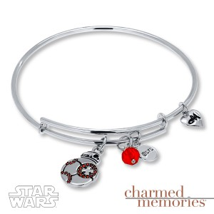 Kay Jewelers - Sterling silver BB-8 charm bracelet