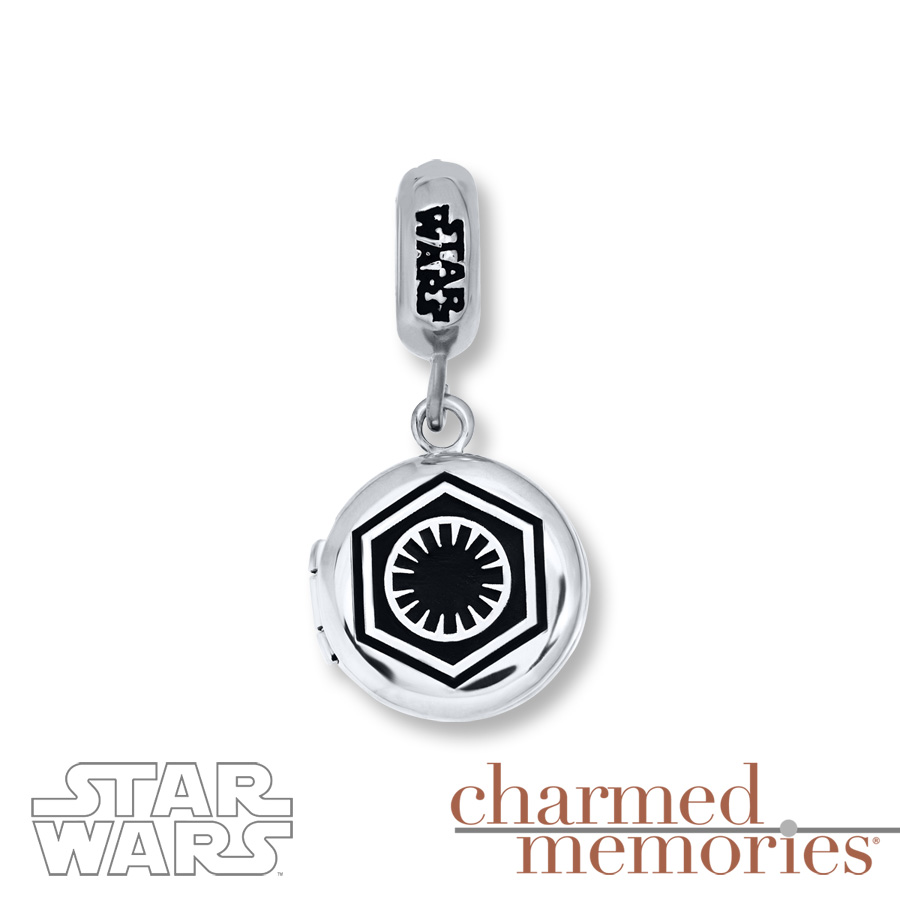 ea7c5b10f ... coupon code kay jewelers sterling silver first order logo charm front  976fd 67923 inexpensive star wars pandora ...