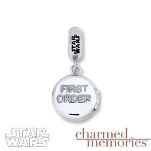Kay Jewelers - Sterling silver First Order logo charm (back)