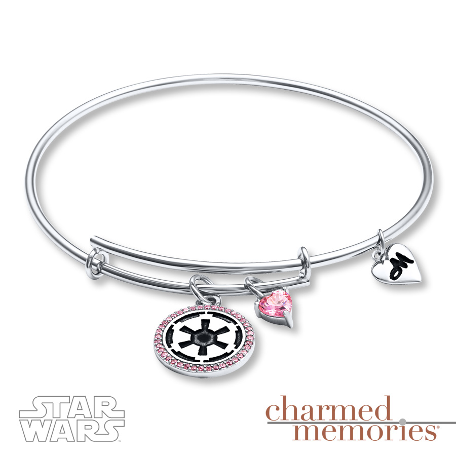 Kay charmed memories bangle bracelet -  Kay Jewelers Sterling Silver Imperial Symbol Charm Bracelet