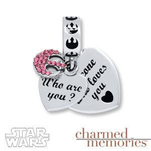 Kay Jewelers - Sterling silver 'Who are you?' - 'Someone who loves you' charm