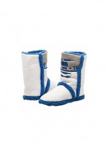 Spencers - R2-D2 slipper boots