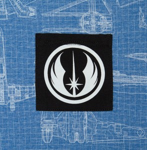 Jedi blueprint tee at Thinkgeek