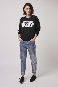 Topshop - women's Star Wars sweatshirt by Tee And Cake