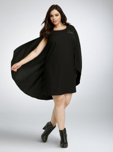 Torrid - women's plus size Darth Vader cape dress by Her Universe