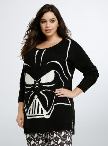 Torrid - women's plus size Darth Vader sweater by Her Universe