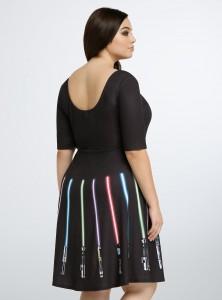 Torrid - women's plus size Lightsaber skater dress by Her Universe