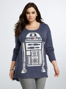 Torrid - women's plus size R2-D2 sweater by Her Universe