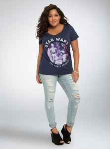 New droids tee at Torrid
