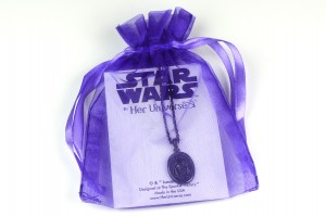 Her Universe - Darth Vader pendant necklace by The Sparkle Factory
