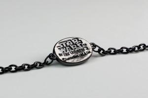 Her Universe - Darth Vader pendant bracelet by The Sparkle Factory