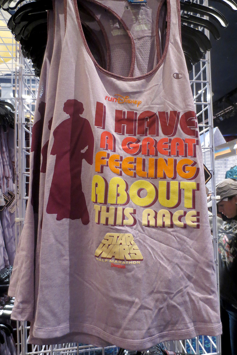 064d576a892bdc 2016 Run Disney Star Wars Half Marathon Weekend merchandise (Disneyland) ...