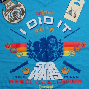 Run Disney Star Wars Rebel Challenge at Disneyland - January 2016