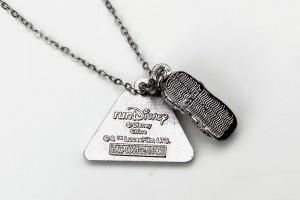 2016 Run Disney Star Wars Half Marathon Weekend necklace (Disneyland)