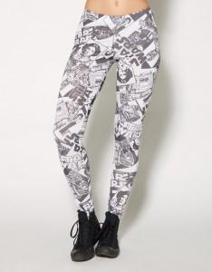 Spencers - women's Star Wars printed leggings (front)
