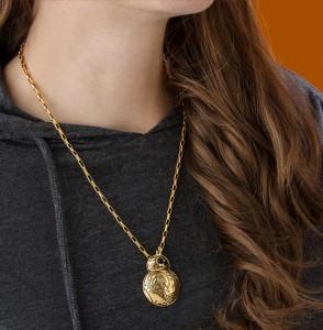Thinkgeek - Han Cholo gold BB-8 necklace