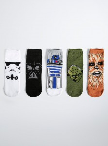 Torrid - Star Wars character sock pack (front)