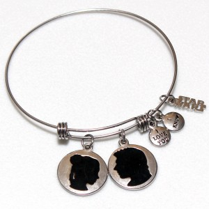 Body Vibe - Princess Leia and Han Solo expandable bracelet