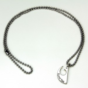 Her Universe - 'I Love You' - 'I Know' necklace set (one of two)