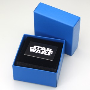 HSN - 'bling' R2-D2 necklace by SG@NYC, LLC (packaging)