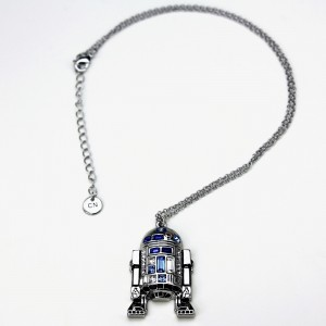 HSN - 'bling' R2-D2 necklace by SG@NYC, LLC