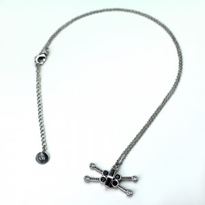 HSN - 'bling' X-Wing Fighter necklace by SG@NYC, LLC