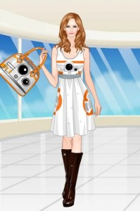 Star Wars Style online doll game by Sweety Game