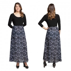 Thinkgeek - exclusive Dark Side Kaleidoscope maxi dress