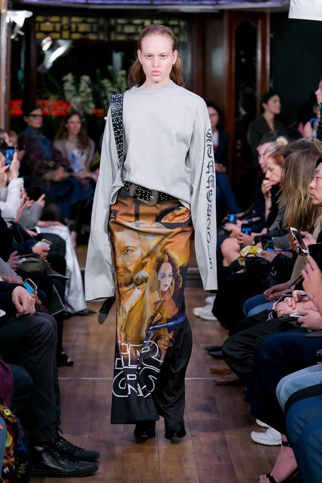 Vetements - Star Wars inspired skirt from SS16 collection