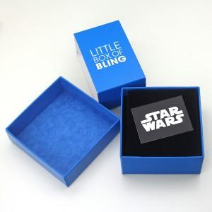 HSN - 'bling' Darth Vader lightsaber earrings by SG@NYC, LLC (packaging)