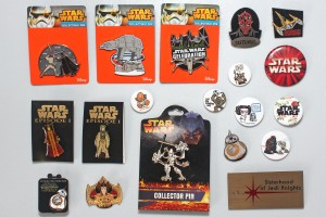 Star Wars pins for styling my denim vest