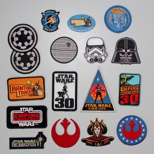 Star Wars patches for styling my denim vest