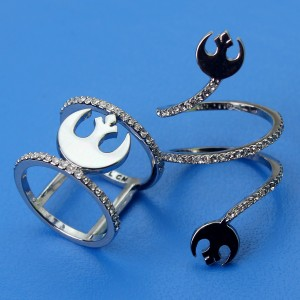 SG@NYC - Rebel Alliance synbol 'bling' rings