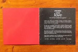 Yves Saint Laurent - 'One Love' advertising booklet