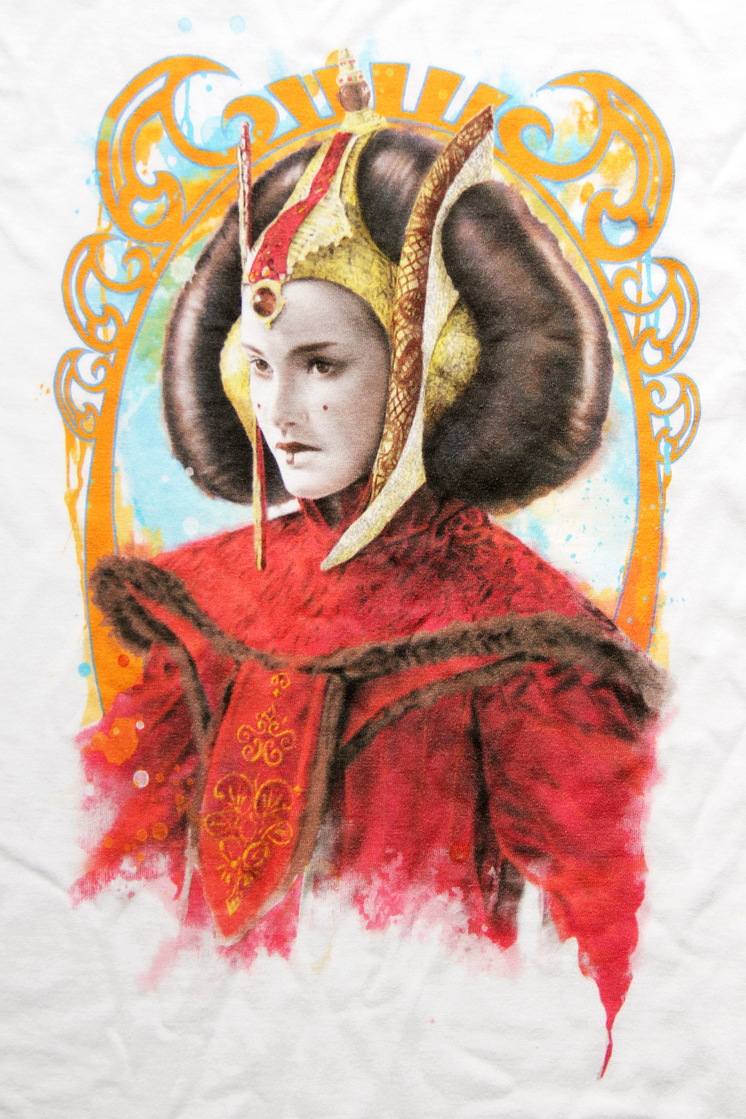 Fifth Sun - women's Queen Amidala t-shirt
