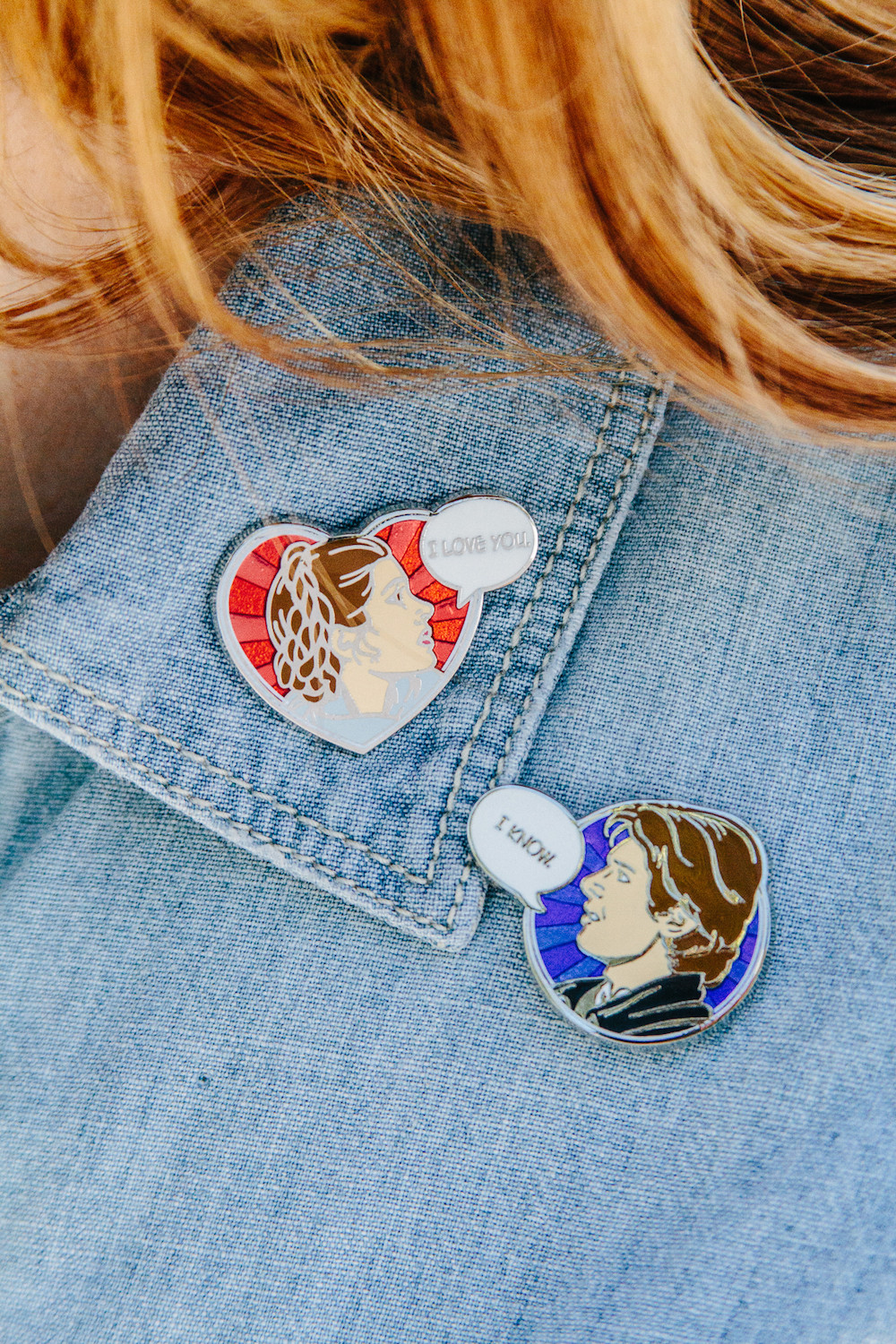 Styling pins and patches - The Kessel Runway