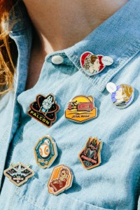 Disney Style - Styling Star Wars pins