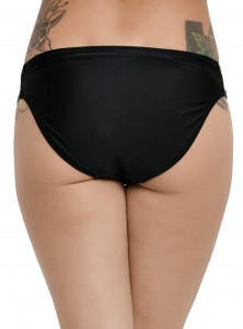 Hot Topic - women's Darth Vader swim bottoms (back)