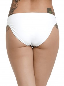 Hot Topic - women's R2-D2 swim bottoms (back)