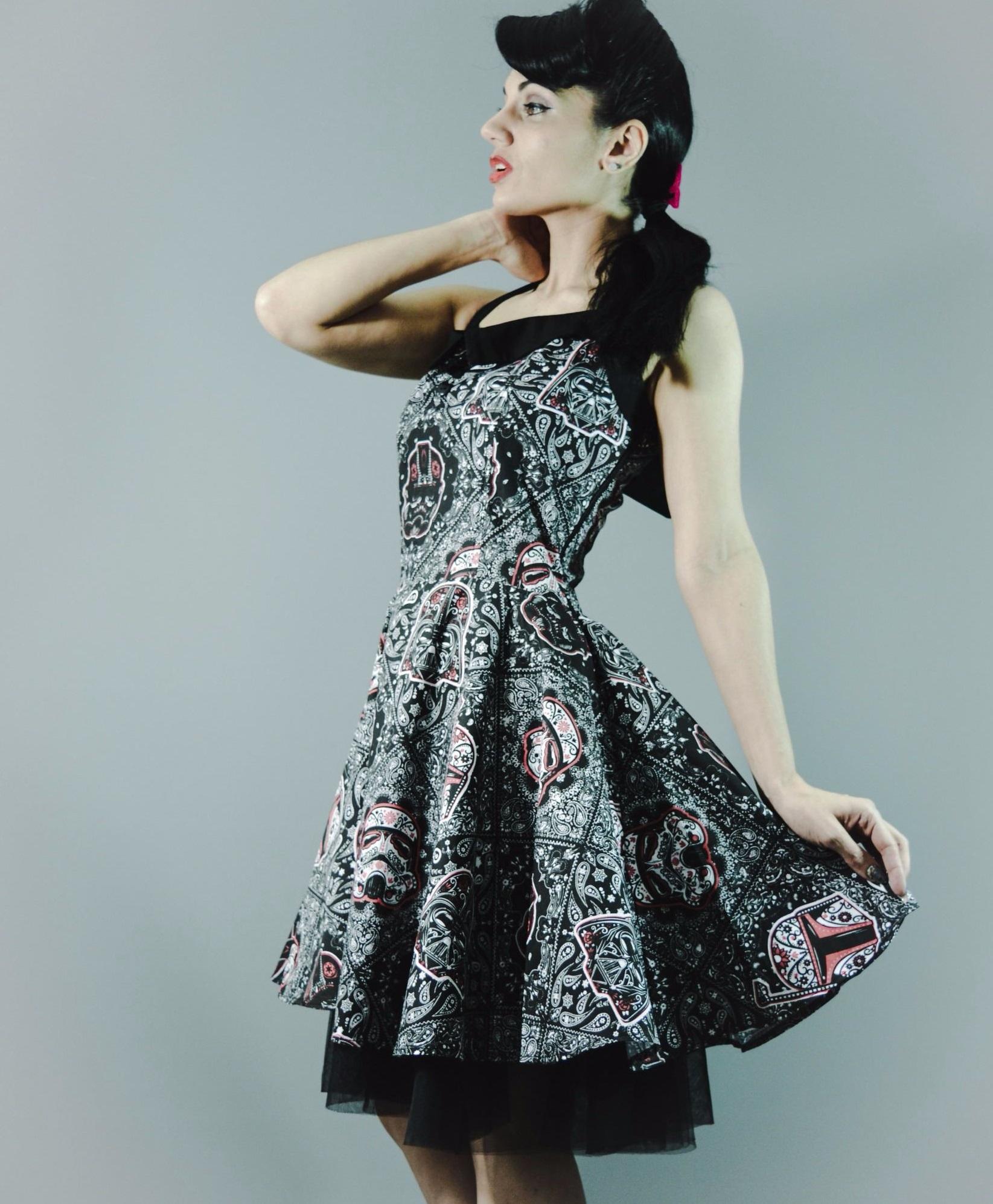500602c56adfe6 My Odd Girl - women s Star Wars Day of the Dead dress ...